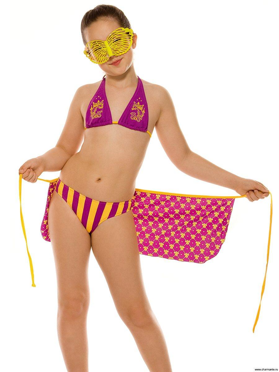 Юные девочки в купальнике 16 фотография