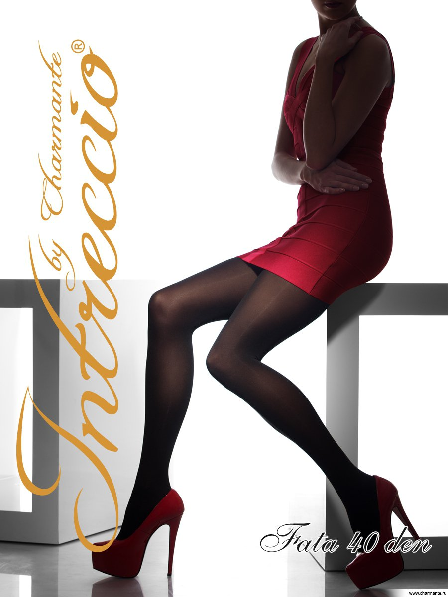 Колготки женские классические, цвет: горький шоколад