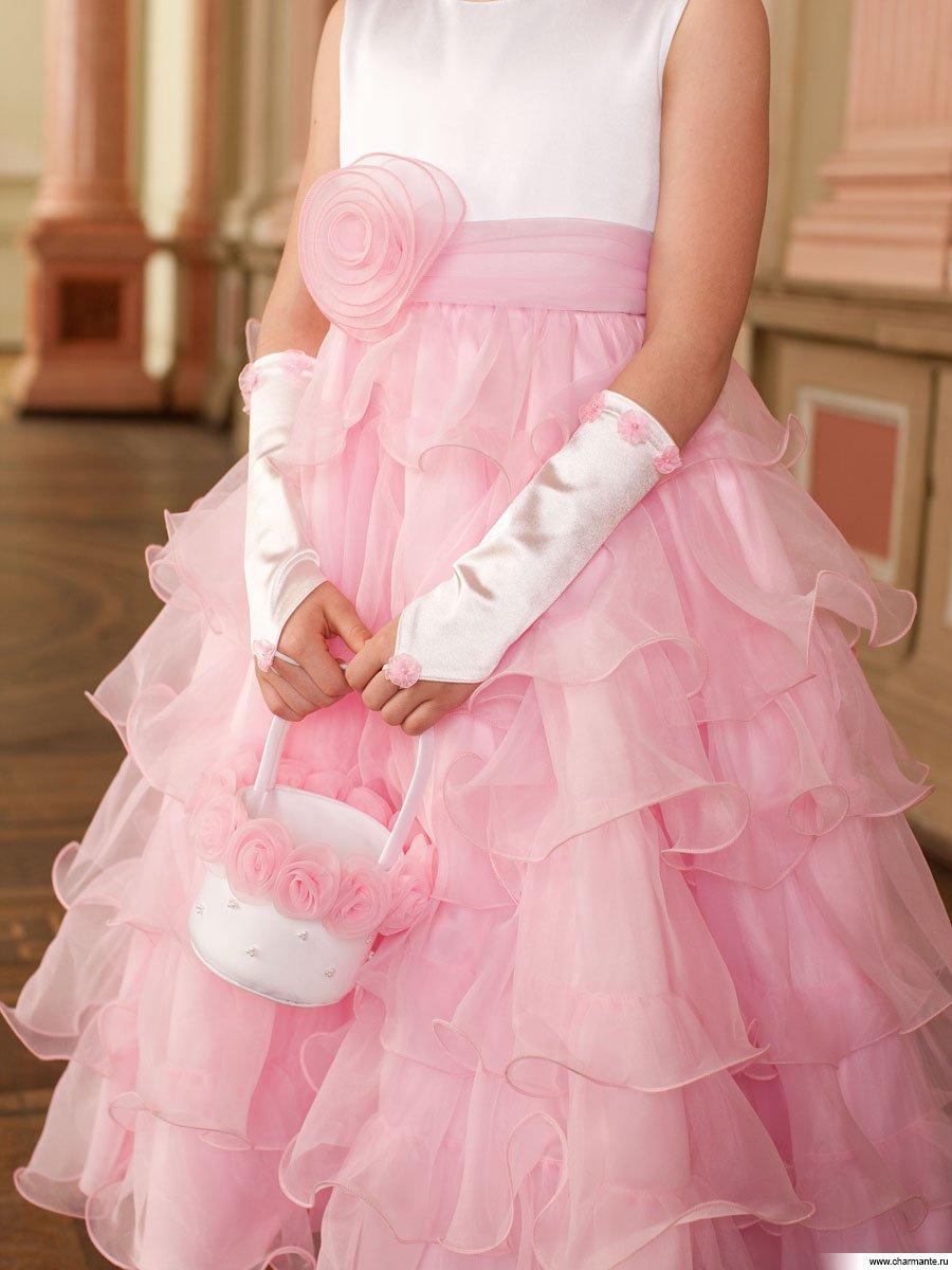 Перчатки детские к платью