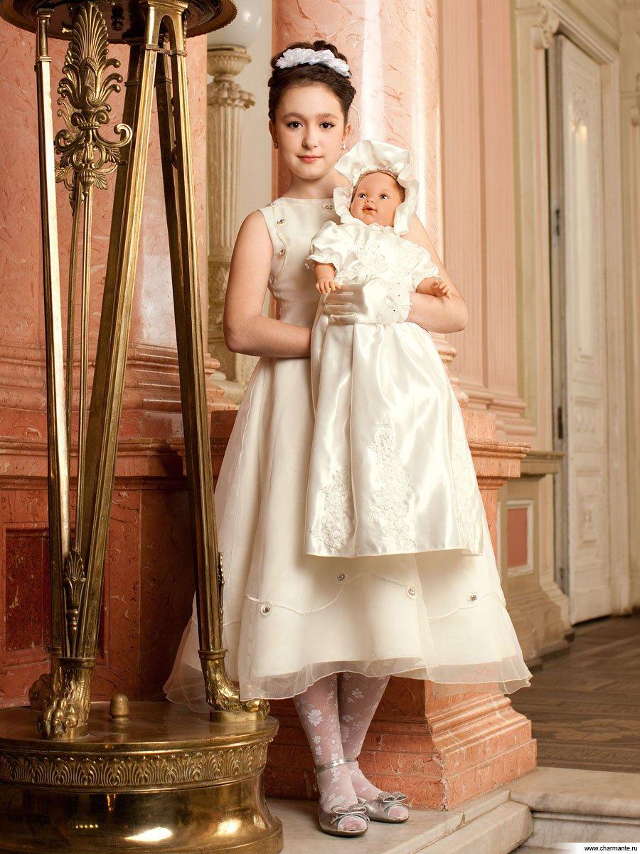 Выкройка платья для крещения 8