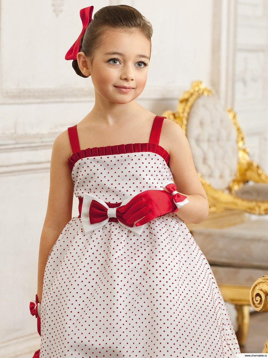 Платья для девочек в стиле ретро
