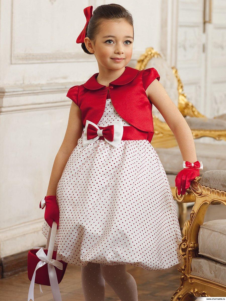 Детские стильные платья для девочек