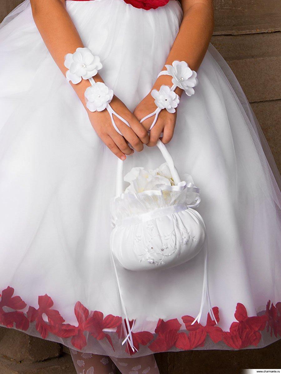 Перчатки нарядные для девочки своими руками