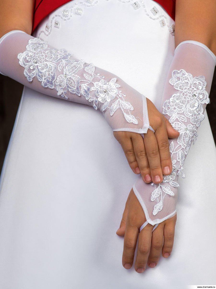 Как сшить перчатки для бального платья