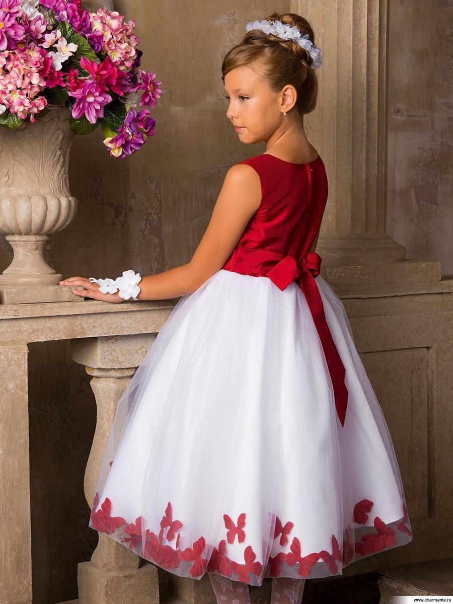 нарядные платья для девочек 7 лет на выпускной