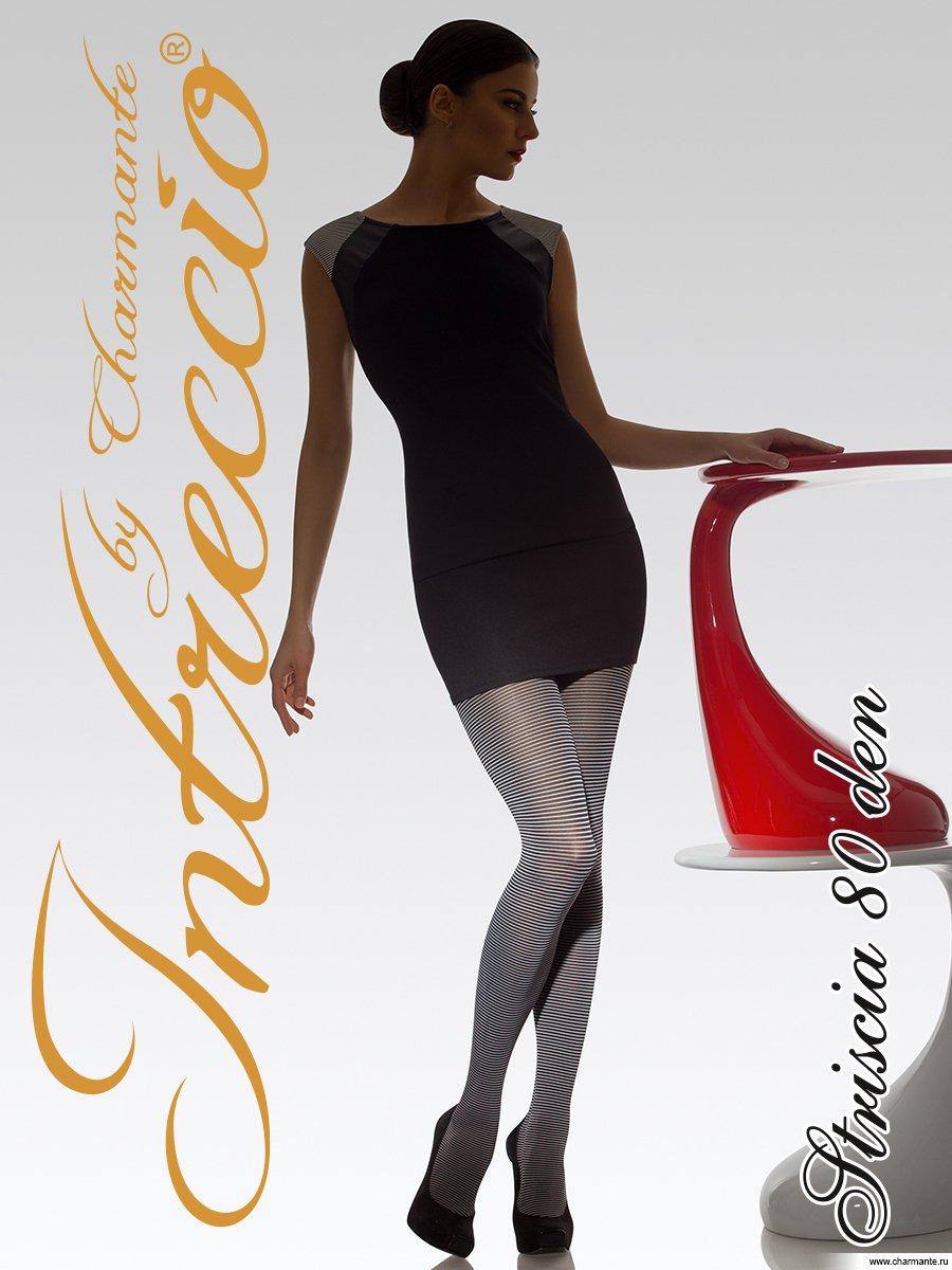 Колготки женские фантазийные, цвет: чёрный