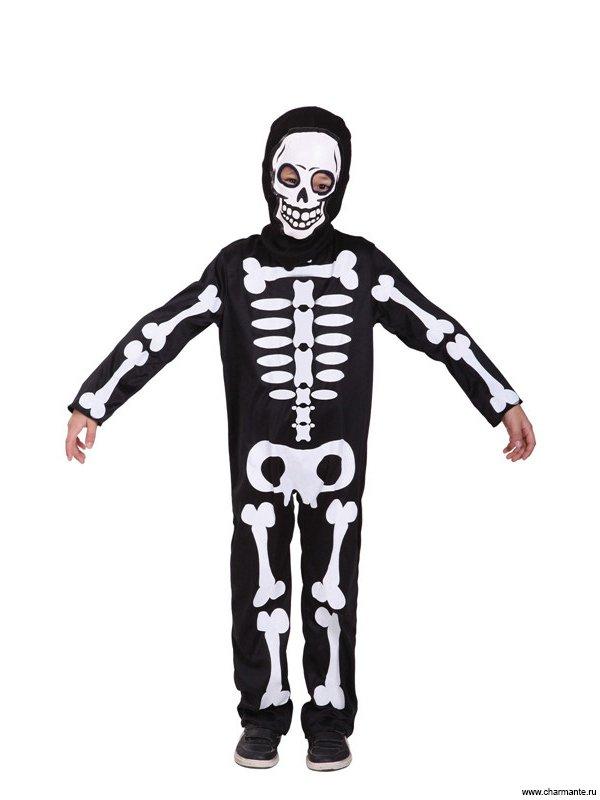 Костюм скелета для мальчиков