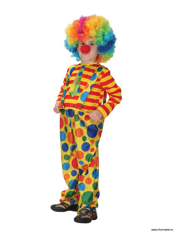 Костюм клоуна для ребёнка своими руками