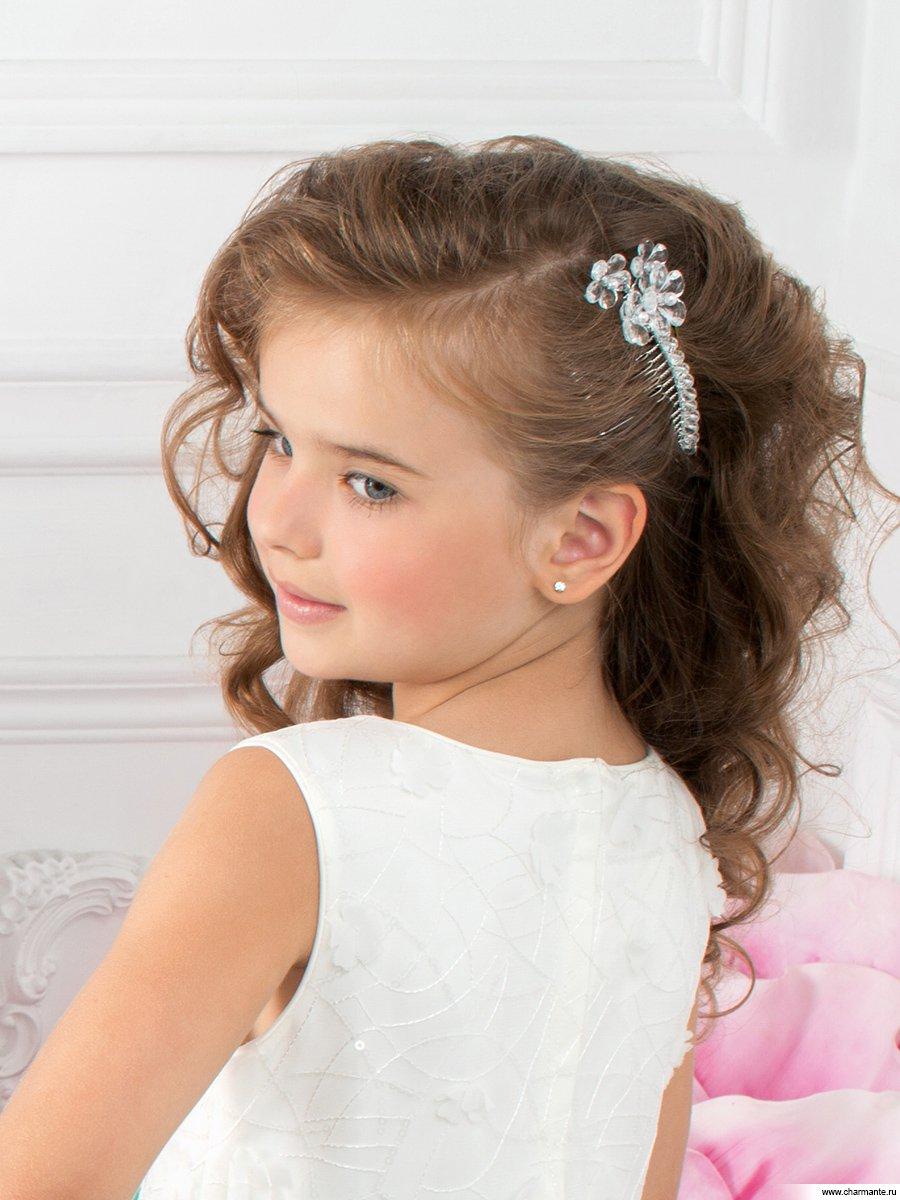 Прическа для девочки наряд