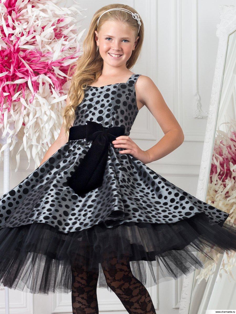 Платье на девочку подростка к новому году