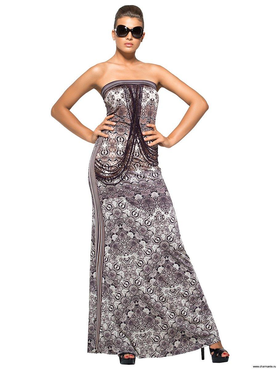 АКЦИЯ! Платье пляжное, цвет: мультиколор