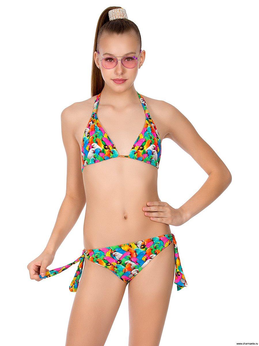 Купальник для девочек-подростков, цвет: