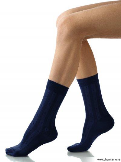 Купить Носки мужские хлопок SCHM-1001, Charmante, темно-синий