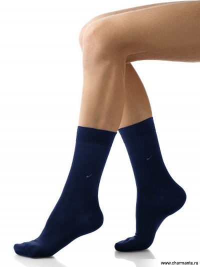 Купить Носки мужские хлопок SCHM-1006, Charmante, темно-синий