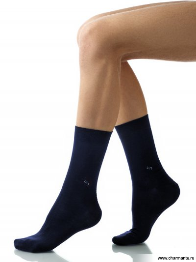 Купить Носки мужские хлопок SCHM-1018, Charmante, темно-синий