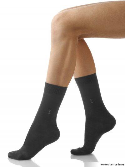 Купить Носки мужские хлопок SCHM-1007, Charmante, темно-серый