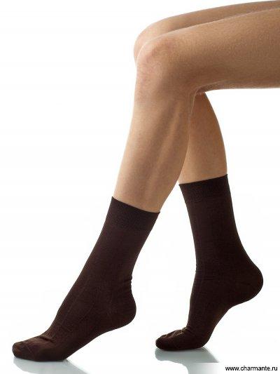 Купить Носки мужские хлопок SCHM-1004, Charmante, темно-коричневый