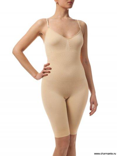 Комбидресс с удлиненными шортами для женщин