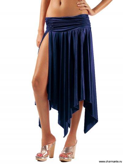 Купить Юбка пляжная WU051217 LG Alize, Charmante, темно-синий