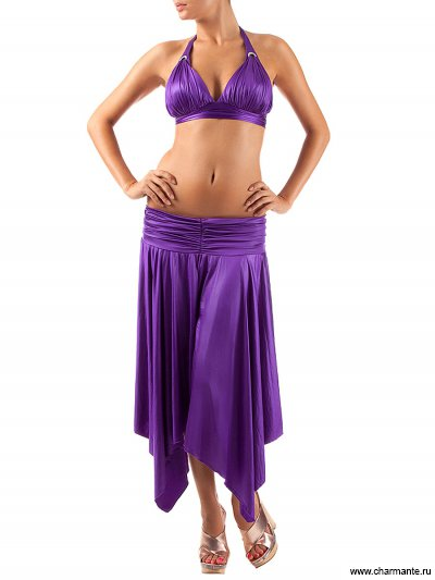 Купить Юбка пляжная WU051217 LG Alize, Charmante, фиолетовый