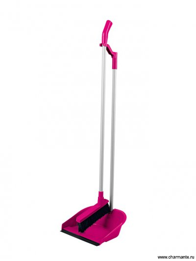 Набор для сухой уборки (щетка и глубокий совок) Charmante L30-1023-14