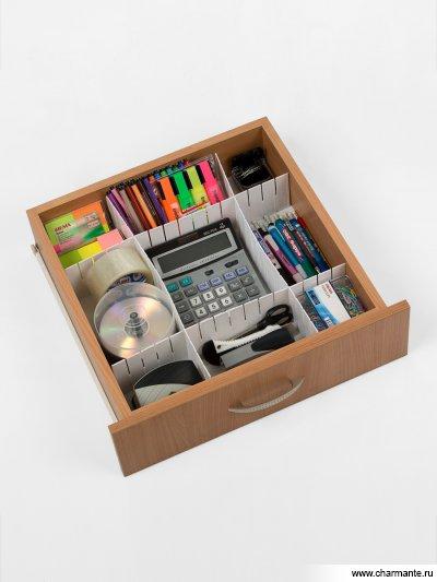 Купить Разделитель пластиковый для ящиков 43*5 см L102-111, Charmante