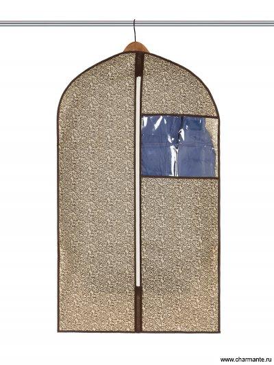 Чехол принтованный с квадратным окном 60*100 Charmante L1009