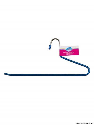 Вешалка для брюк одинарная, с ПВХ-покрытием размер: 33х14 см