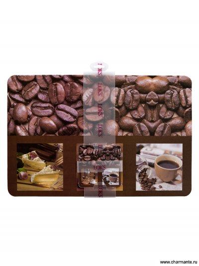 Набор салфеток (6+6) для сервировки стола 28x43 / 10x10 от Charmante