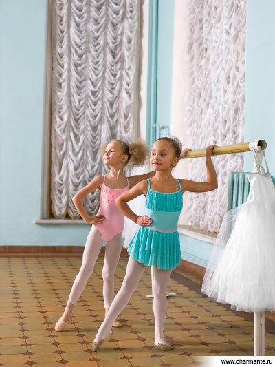 Купить Купальник спортивный для девочек SGK200829, Charmante, светло-розовый