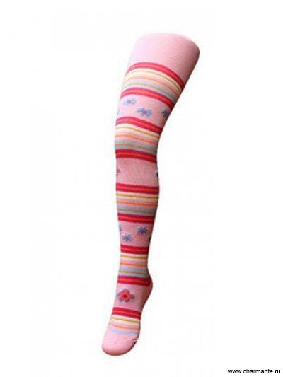 Купить Колготки для девочек AKRP 160907, Charmante, светло-розовый