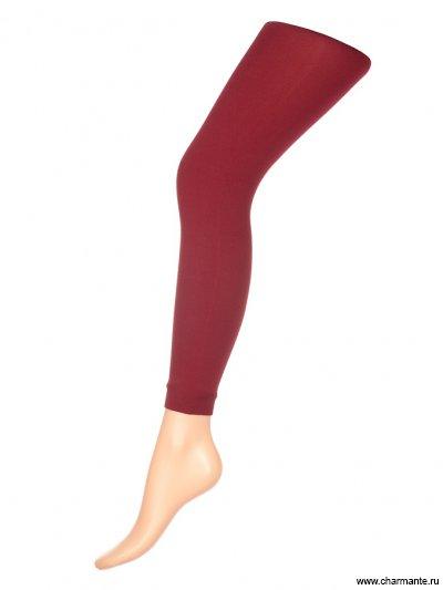 Купить Леггинсы женские классические GLAM 80, Charmante, насыщенно-бордовый