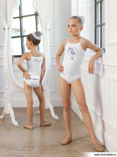 Комплект для девочек (майка-топ, трусы)
