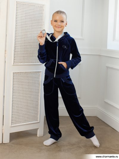 Купить Костюм для девочек SGHK 201243, Charmante, синий