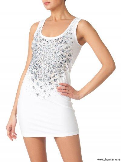 Купить Платье пляжное для женщин WQ291404 Treasure, Charmante, белый со стразами