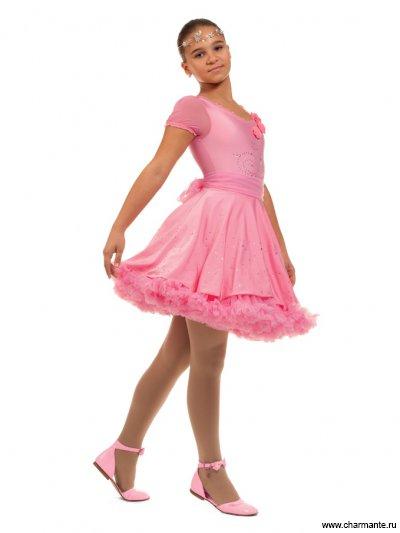 Комплект одежды для девочек (юбка, подъюбник, боди, пояс) Charmante PSHK041104