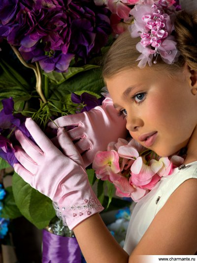 Перчатки для девочек Charmante PACG011319