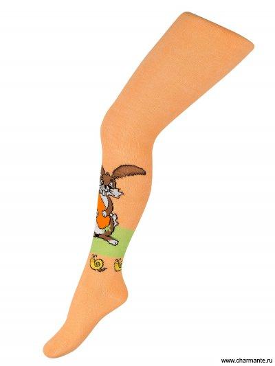 Купить Колготки для девочек ARB 011305, Charmante, светло-оранжевый