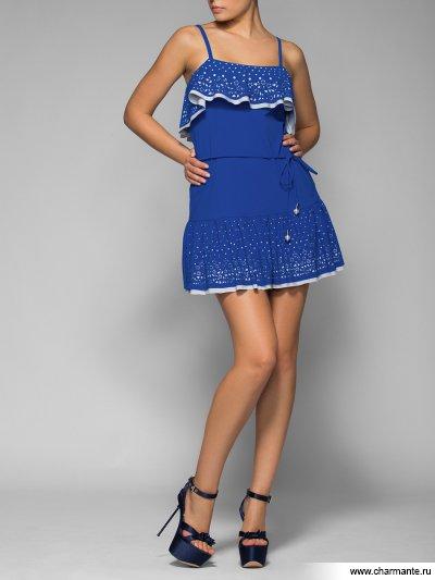 Купить Платье пляжное для женщин WQ061405 LG Harriet, Charmante, серый/синий