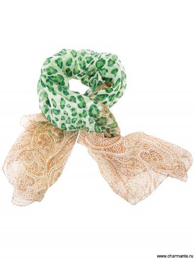Купить Платок шелковый SHSF054, Charmante, зелёный