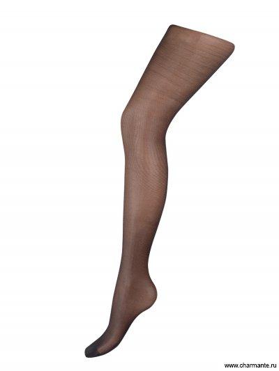 Купить Колготки женские классические с легким поддерживающим эффектом LIGHT CONTROL 10, Charmante, чёрный
