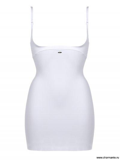 Нижнее платье с глубоким вырезом под бюст с утягивающим эффектом