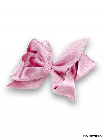 Купить Бант-зажим для волос PACP 021422, Charmante, светло-розовый