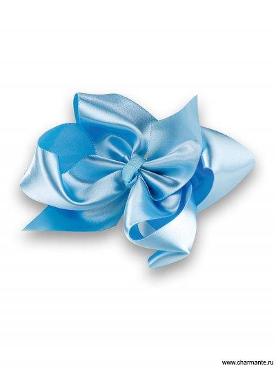 Купить Бант-зажим для волос PACP 021411, Charmante, голубой