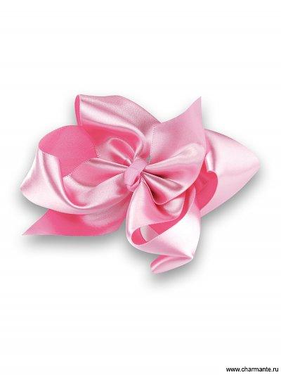 Купить Бант-зажим для волос PACP 021411, Charmante, светло-розовый