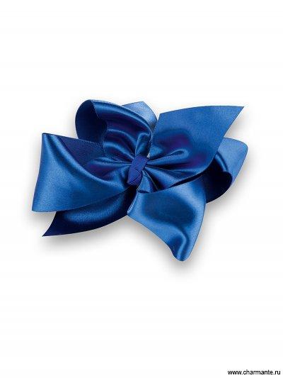 Купить Бант-зажим для волос PACP 021411, Charmante, синий