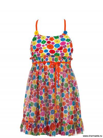 Платье пляжное для девочек Charmante YPGQ 041408 AF Albertina
