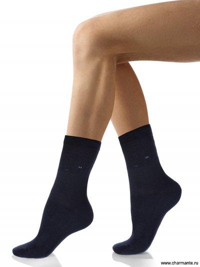 Купить Носки мужские хлопок SCHM-1493, Charmante, тёмно-синий