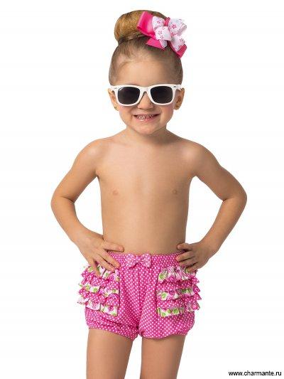Шорты пляжные для девочек Charmante GP021501 Peggy