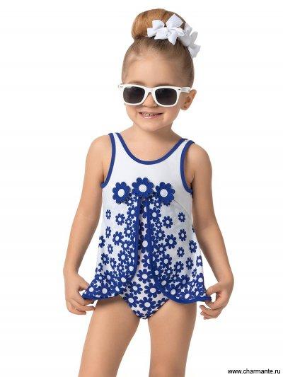 Купальник-платье для девочек